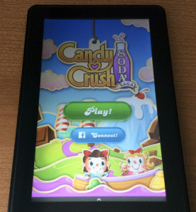 Candy Crush Soda Saga for the Kindle Fire