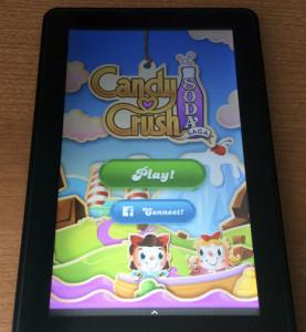 Candy Crush Soda Saga for the Kindle Fire